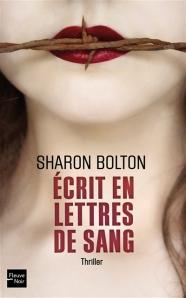 Bolton - Ecrit en lettres de sang