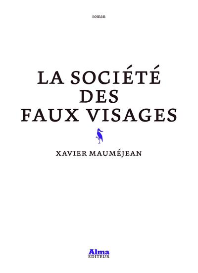 Mauméjean - La Société des faux visages